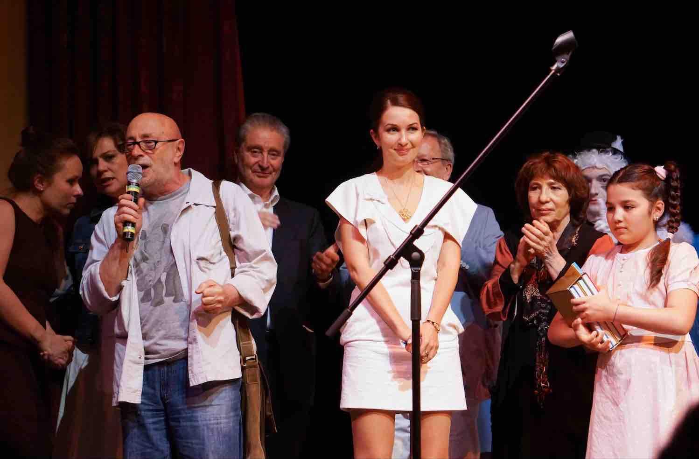 """Международный конкурс юных чтецов """"Живая классика"""" в театре Et Cetera."""