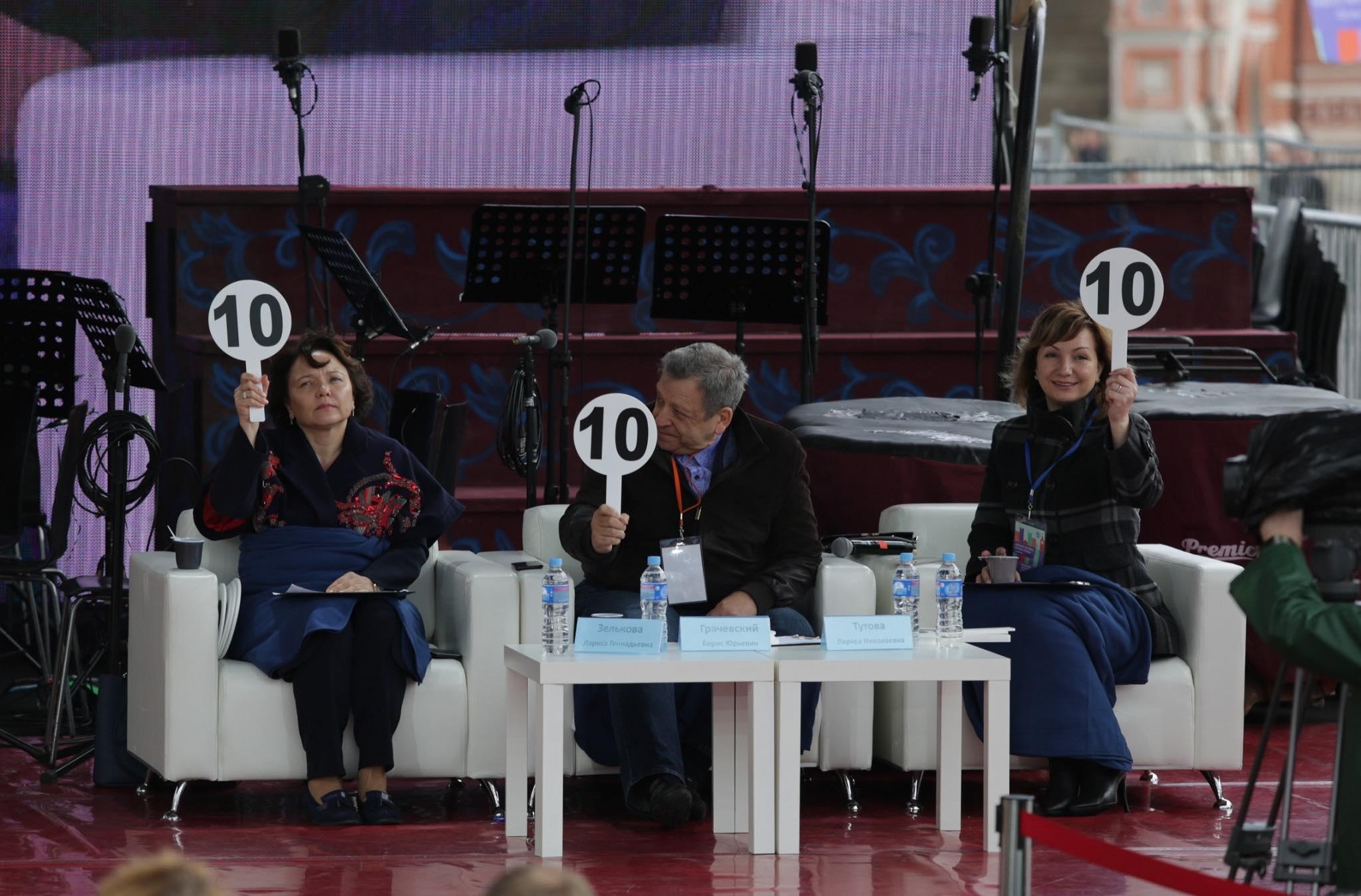 Лариса Зелькова, Борис Грачевский, Лариса Тутова